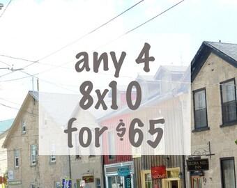 Choose any four (4) 8x10s - Wall Decor - Fine Art Photography Print Sale