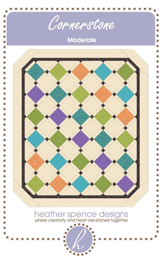 Modern Quilt-Nine Patch Quilt-Quilt Pattern