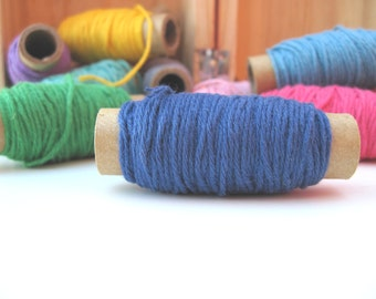 25 yards Solid Blue  Bakers Twine - 25 yards on each spool- blue twine- Light Blue