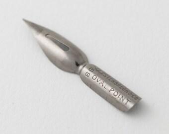 Esterbrook #788 Oval Point dip pen nib