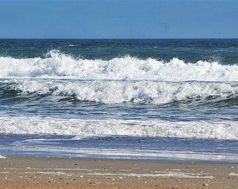 Beach Photography, Ocean Photography, Beach Art, Wall Art, Home Decor,  Coastal Decor, Beach, Ocean, Surf,  North Carolina  11 x 14