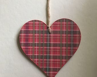 Large Christmas Hanging Heart