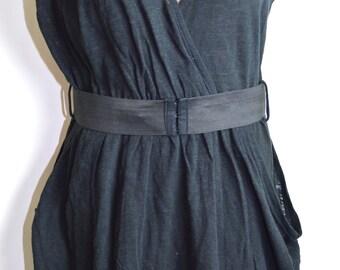 Vintage Eighties Sassy Little Black Dress