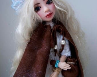 Doll. Handmade Doll. Forest Angel