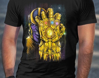 Thanos Infinity Gauntlet Shirt | PREMIUM QUALITY | Infinity Stones | Avengers | Marvel | Comic Tee | Geek Clothing | T-Shirt | Geek Tee