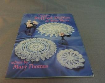 Crochet Patterns, Favorite Ruffled Doilies of Rita Weiss, Doilies, Home Decor