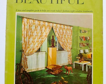 How to Make Your Windows Beautiful Volume 3 1969 vintage midcentury decorating book