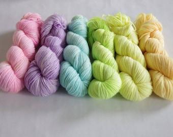Hand Dyed DK Yarn Blanket Pack