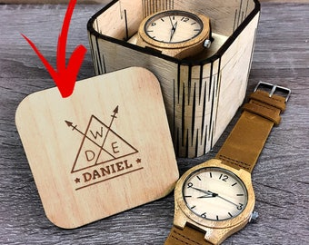 mens wooden watch, engraved mens wooden watch, wood watch, mens watch, mens wooden watch, personalized mens wooden watch, father's day gift