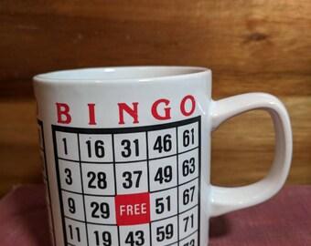 Vintage Bingo Game Japan Mug