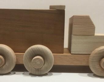 Wooden toy DumpTruck