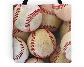 Baseball Tote, Bag, Baseball Season, Carry-On, Shoulder Bag, Mom, Baseball Gifts, Sports, Photography