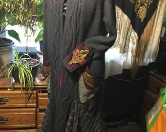 long Gypsy Sweater Jacket