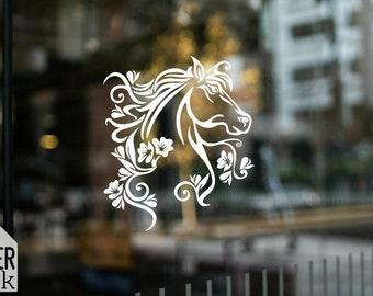 Horse nr 1 decal | Horse sticker | Car decal | car sticker | vinyl