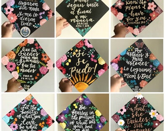 Cardstock Graduation cap design | customize it