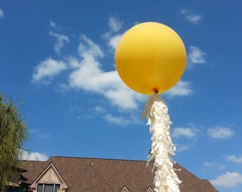 Fun Tassel Fringe Balloons for weddings and party