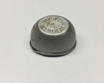 1920 LAVOPTIK Eye Wash Co. ~ Aluminum Eye Bath Cup