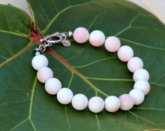 Conch Shell Bracelet - Classic Rounds, Sterling SIlver - A ZEN by Karen Moore Signature Collection