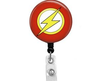 Flash 1 - Badge Reel Retractable ID Badge Holder