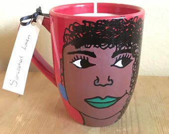 Soy Wax Candle Black Woman