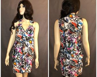 Graffiti Rock Dress Custom one of a kind Size XS S M L