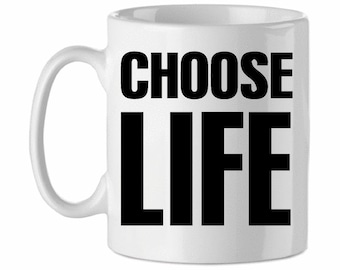 Choose Life Wham George Michael Tribute Mug