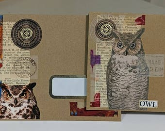 Owl Card and Envelope