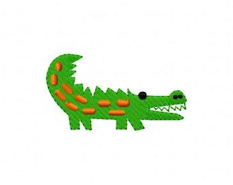 Embroidery Design, Alligator, Gator,  // Joyful Stitches