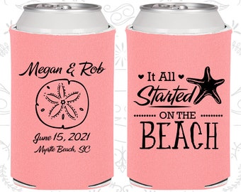 It all started on the beach, Wedding Giveaways, Beach Wedding, Tropical Wedding Favors, Starfish Wedding, Starfish Favors (414)