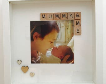 Mummy & Me, Custom and Personalised frame Birthday Father's Day Mother's Day