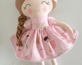 Custom Signature Dolly - Custom made Doll - Personalised Doll - Dolly - Rag Doll - Cloth Doll - Dolly