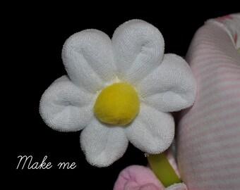 Baby Washcloth Daisy, WashAgami ™, for a diaper cake Instructional Video