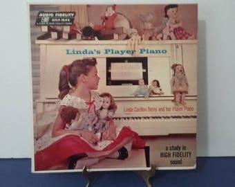 Very Rare Vinyl! - Linda Carillon Berry - Linda's Player Piano - Circa 1957