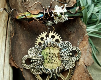 Finding Killian - Mixed Media Art Jewelry