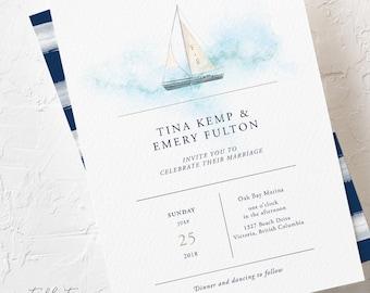 Marina Bay - Wedding Invitations (Style 13795)