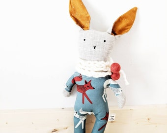 Heirloom Doll - monsieur fox