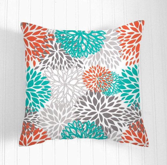 decorative throw pillows 20 x 20 orange throw pillow covers. Black Bedroom Furniture Sets. Home Design Ideas