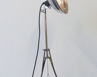 Tripod stand-up lamp radiator 50 stand shabby vintage loft industrial #21neun