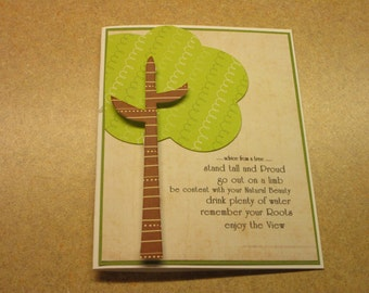 Handmade Inspirational Card. Encouragement. Unisex. Just Because. Thinking of You.