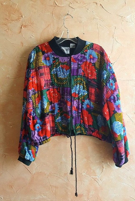Traditional Sequins Patched Colorful Coat India Go Jacket Way Brights Vintage Collectors Hippie Jacket Beaded To Bomber Design Style Boho wASUzq0Z