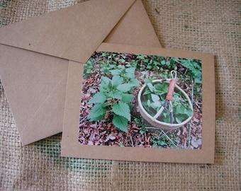 Wild Nettles Notecard