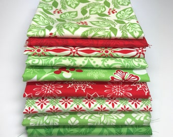 Solstice Fat Quarter Bundle - 9 Pieces - Kate Spain - Moda
