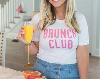 Brunch Club Tshirt, Brunch Shirt