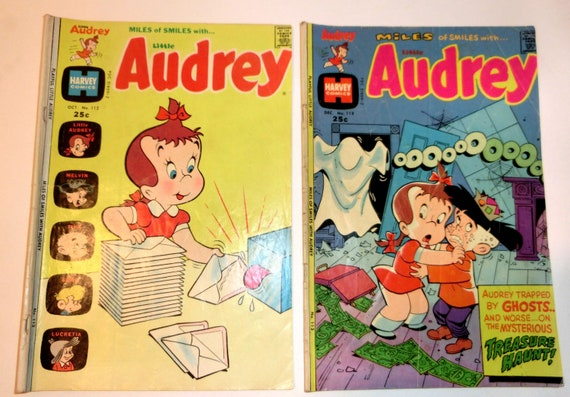 Vintage Comic Books – Richie Rich and Little Audrey – Collect or Use