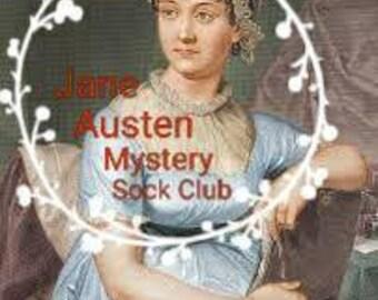 Jane Austen Mystery Sock Club (INTERNATIONAL)