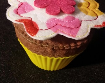Felt Cupcake Tutorial