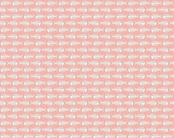 extra15 20% OFF Meow By My Mind's Eye for Riley Blake Fish Pink