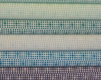 Art Gallery's Square Elements Dark Bundle - 9 Fabrics - Choose Your Cut