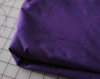 2 Purple Cotton Poplin Broadcloth Nice weave Fabric 2