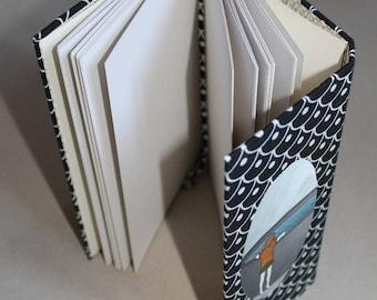 schetsboek, notitieboek, dagboek, handgebonden, blanco pagina's